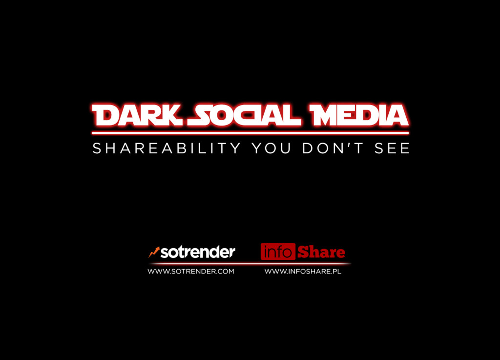 Dark Social Media, shareability You don't see