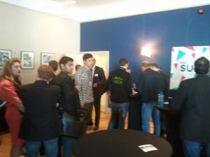 Speed networking at the Web Summit - the queue to the investor