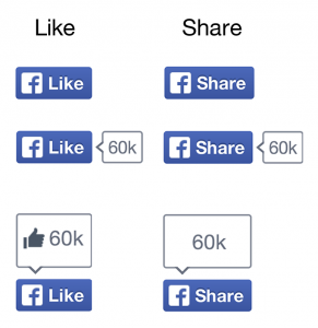 Nowe przyciski na Facebooku