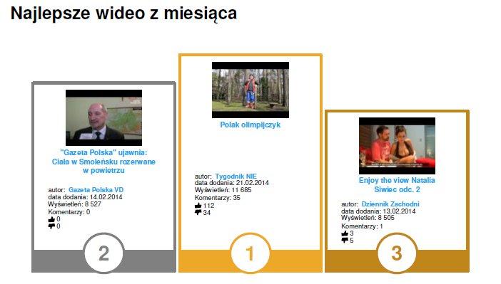Najlepsze wideo w kategorii Prasa w #YouTubeTrends