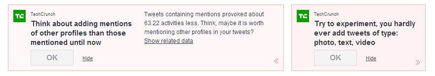 Sotrender tips for Twitter