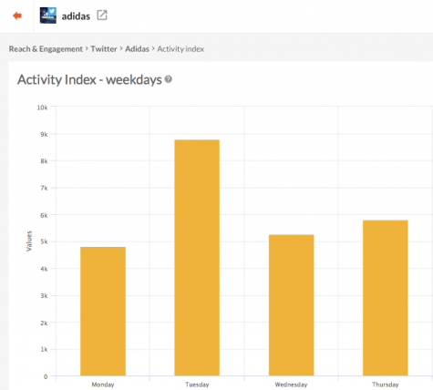 Activity Index can be verified daily or hourly