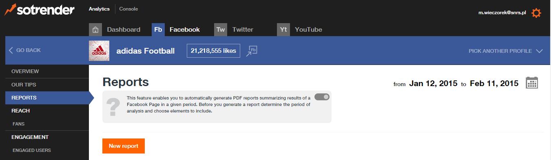 PDF automatic reports