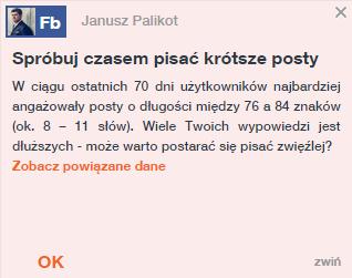 Wskazówka Sotrendera dla Janusza Palikota