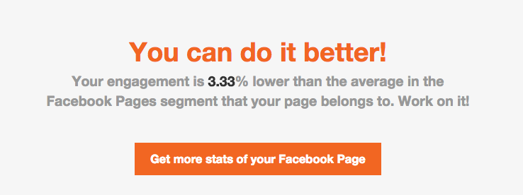 Get more stats for your Facebook page