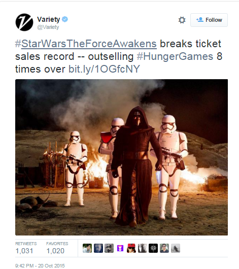 Sotrender Blog Star Wars Sales record