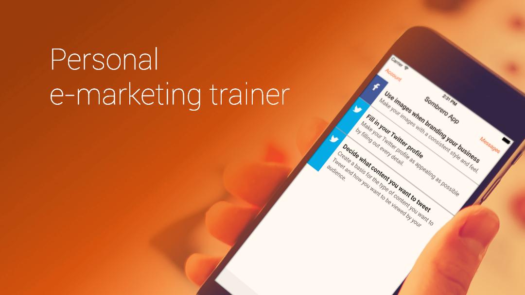 Sombrero,  your personal e-marketing trainer