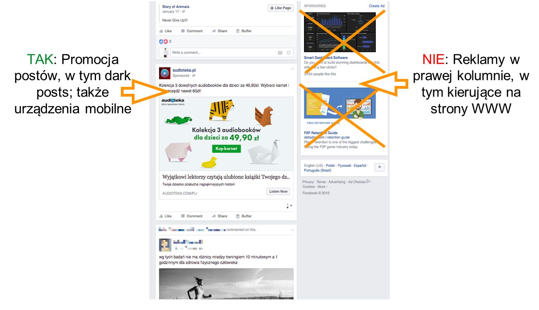 Jakie reklamy na Facebooku podlegają naszej analizie