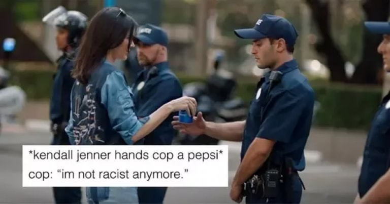Pepsi's marketing campaign with Kendall Jenner Criticism