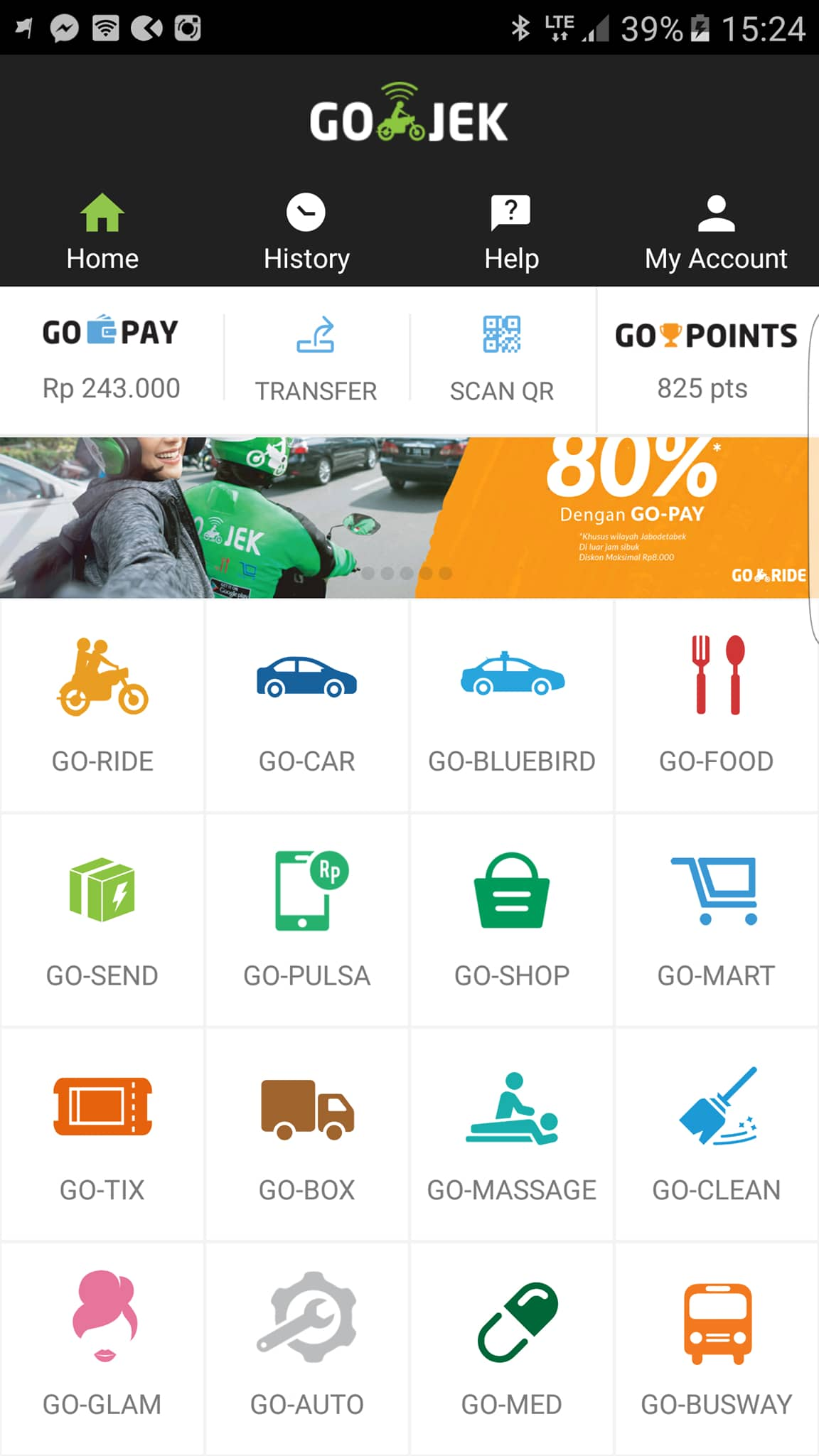 Go-JEK App/Services - Ride Sharing Apps in Indonesia
