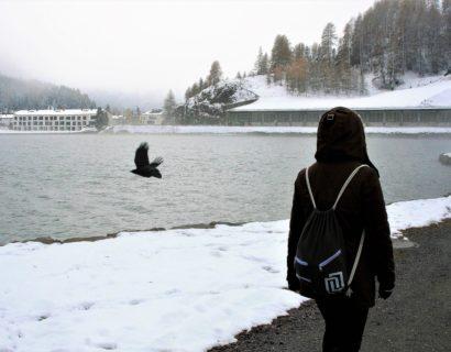 winter, walk, spacer, zima, odpoczynek
