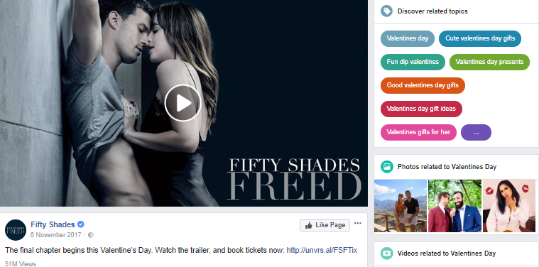 fifty shades - related content