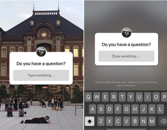 Nowa funkcja zadawania pytań w Stories