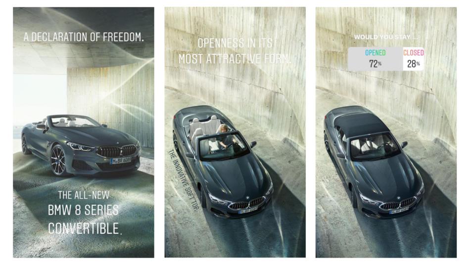 BMW's Instagram Stories