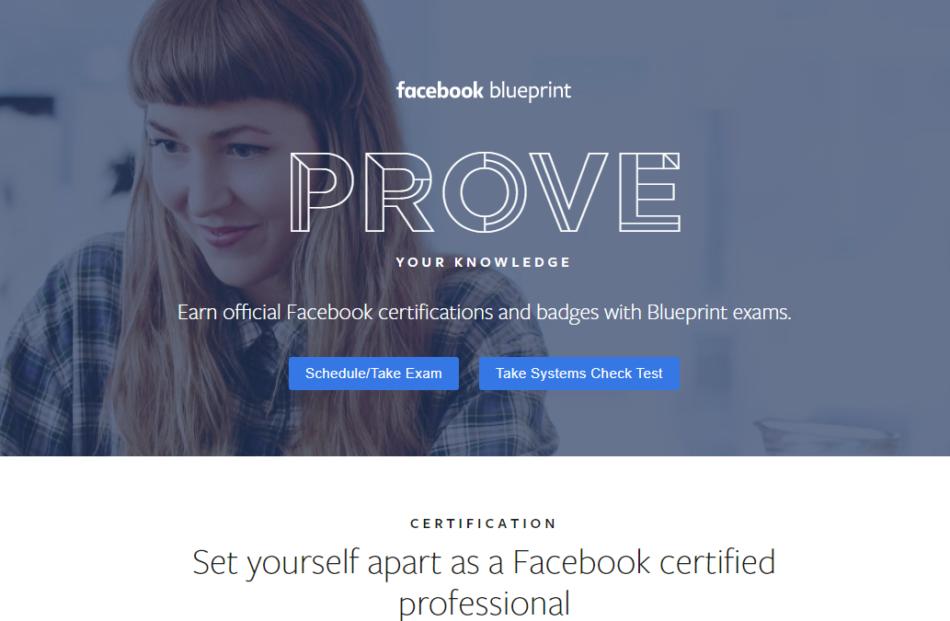 facebook blueprint courses