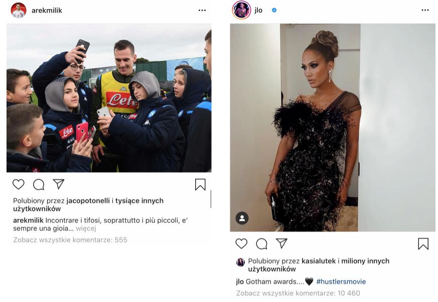 ukrycie liczby polubień na instagramie