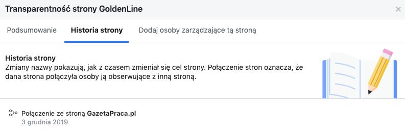 goldenline facebook