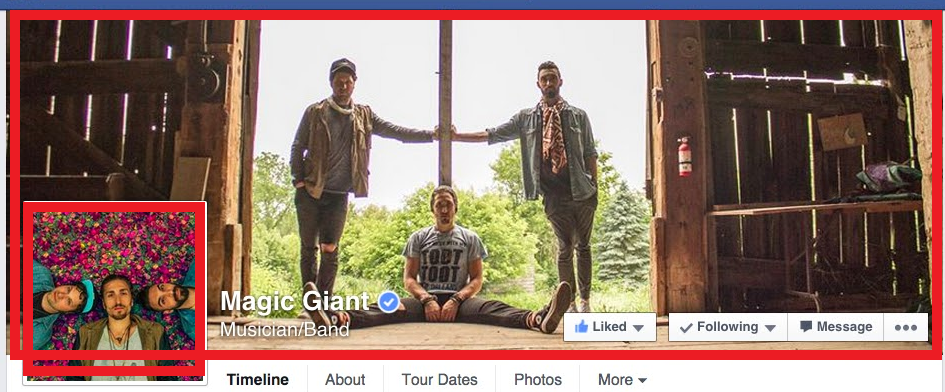 magic giant facebook profile