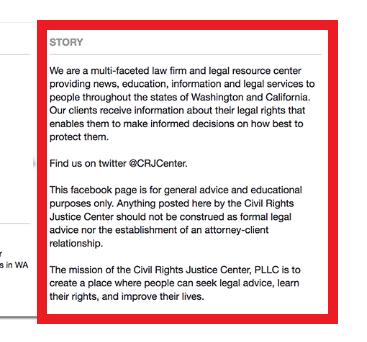 facebook crj center description