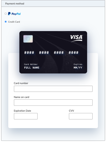pay for sotrender using a credit card