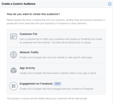 How to create Facebook Audience