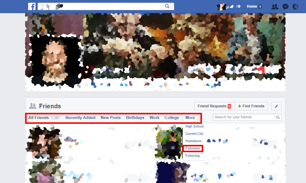 How to see who follows you on Facebook - Resources Sotrender