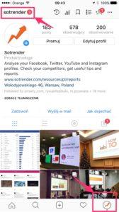 Konto firmowe na Instagramie czy konto osobiste? Przełączanie między profilami jest bardzo łatwe.