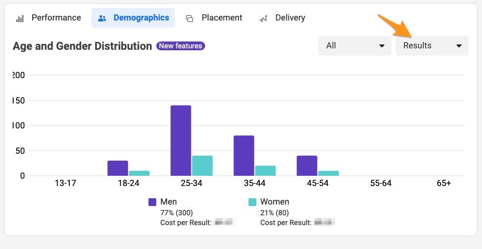 facebook ad analytics demographic
