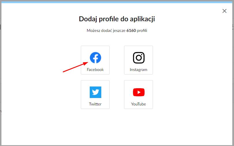 dodawanie profilu facebookowego konkurencji w sotrenderze